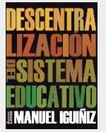 Libro de Descentralización del sistema educativo