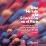 Libro de Una Mirada a la Educación en el Perú