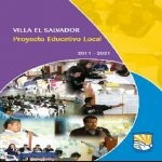 Libro de Proyecto Educativo Local de Villa El Salvador 2011 -2021