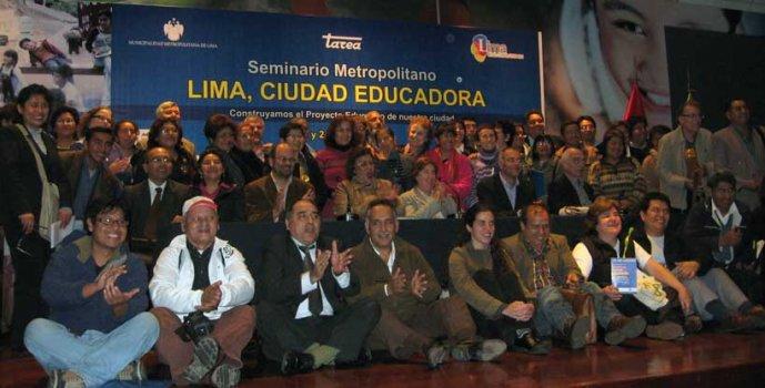 Seminario Metropolitano Lima Ciudad Educadora – Año 1-2/7/2011