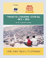 Libro de Proyecto Educativo Distrital (PED) de Independencia