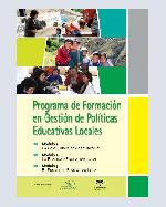 Libro de Programa de Formación en Gestión de Políticas Educativas Locales