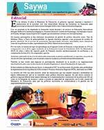 Libro de Saywa. Boletín informativo N° 8