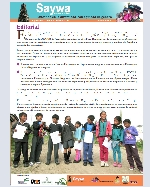 Libro de Saywa. Boletín informativo N° 6