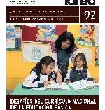Imagen de En circulación revista TAREA N° 92. Desafíos del Currículo Nacional de la Educación Básica