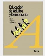 Libro de Educación de adultos y democracia