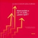 Libro de Matemática en el aula… ¿para qué?