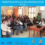 Libro de Proyecto Educativo Local de la provincia de Sucre 2012-2027