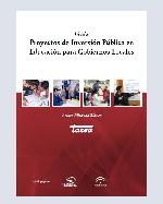 Libro de Guía para el Diseño de Proyectos de Inversión Pública en Educación