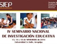 Imagen de IV Seminario Nacional de Investigación Educativa