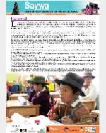 Libro de Saywa. Boletín informativo N° 4