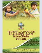 Libro de Plan Local de Educación de la Municipalidad de Huayopata 2015-2019
