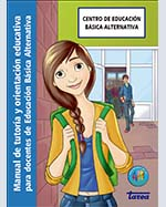 Libro de Manual de tutoría y orientación educativa para docentes de Educación Básica Alternativa