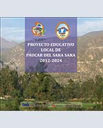Libro de Proyecto Educativo Local Páucar del Sara Sara 2012-2024