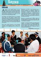 Libro de Saywa. Boletín informativo N° 12